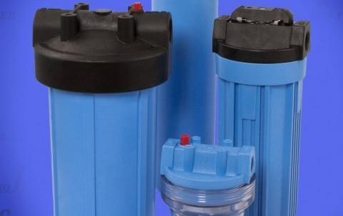 Filtergehäuse aus Kunststoff