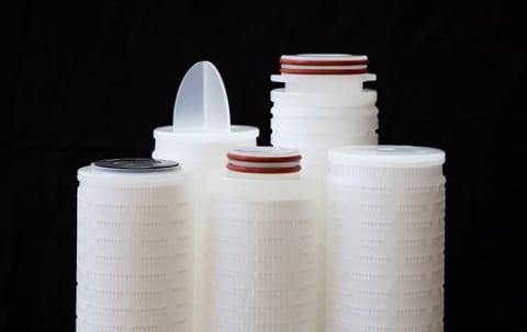 Filterkaars voor bacteriën